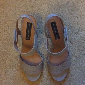 Steven by Steve Madden Razle heels - size 9, grey